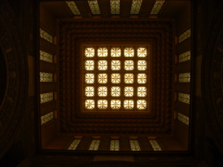 中央広間ステンドグラス